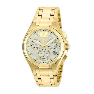 Technomarine TECHNO MARINE Techno Marine Mens Gold Tone Bracelet Watch-Tm-215015