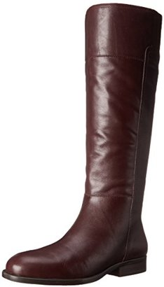 Nine West Women's Varee Leather Riding Boot $169 thestylecure.com