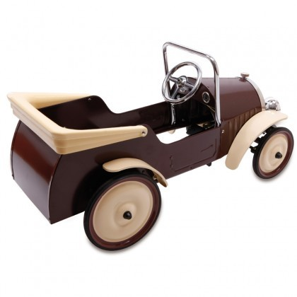 Baghera Brown Classic Pedal Car