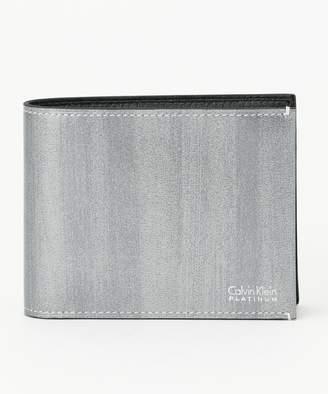 Calvin Klein (カルバン クライン) - Calvin Klein men 【新作入荷】ボールドII2つ折り 財布(C)FDB