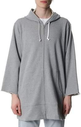 Comme des Garcons Boys Grey Cotton Sweatshirt