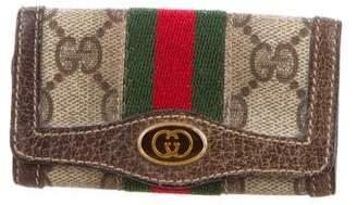 Gucci Vintage GG Plus Key Holder