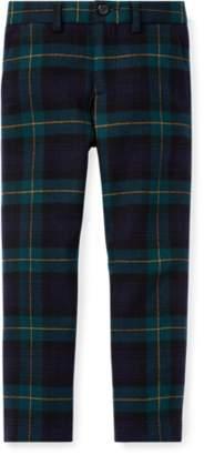 Ralph Lauren Slim Tartan Wool Twill Trouser