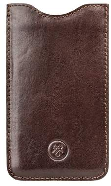 Samsung Maxwell Scott Bags Dark Brown Italian Leather Galaxy S3 Sleeve