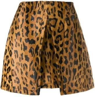 Philosophy di Lorenzo Serafini leopard print skirt