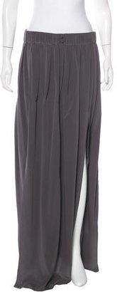 Thakoon Addition Silk Maxi Skirt