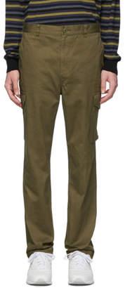 Comme des Garcons Homme Homme Khaki Twill Cargo Pants