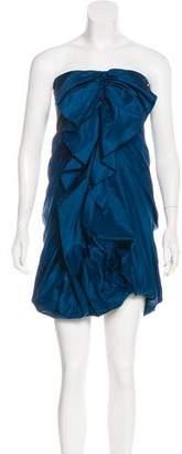 3.1 Phillip Lim Strapless Mini Dress