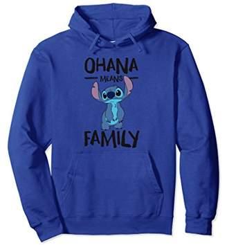 Disney Ohana Means Family Stitch Hoodie