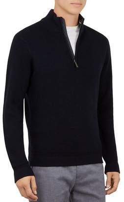 Ted Baker Lohas Funnel-Neck Half-Zip Sweater