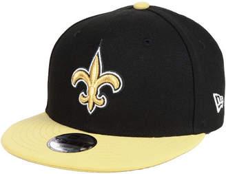 New Era Boys' New Orleans Saints Two Tone 9FIFTY Snapback Cap