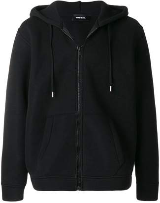 Diesel hooded zipped jacket