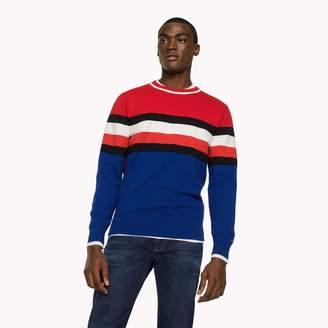 Tommy Hilfiger Bold Stripe Crewneck Sweater