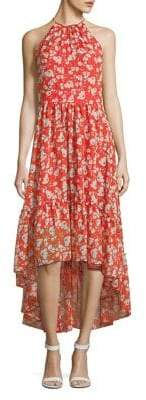 Eliza J Floral Hi-Lo Dress