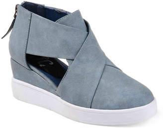 Journee Collection Seena Wedge Sneaker - Women's