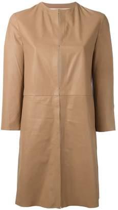 Drome cropped sleeve coat
