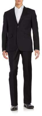 Hardy Amies Two-Piece Wool Suit Set