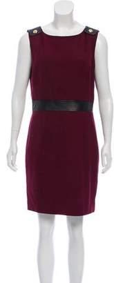 Tory Burch Wool-Blend Mini Dress