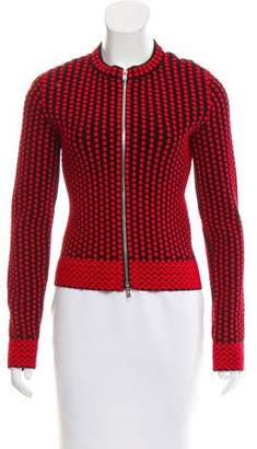 Alaia Knit Zip-Up Jacket w/ Tags