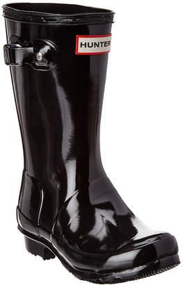 Hunter Kids Wellies Gloss Rain Boot