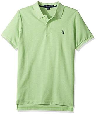 U.S. Polo Assn. Men's Classic Fit Solid Short Sleeve Pique Shirt