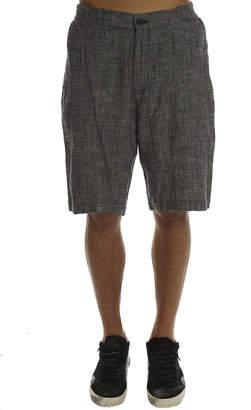 Shades of Grey Flat Front Short