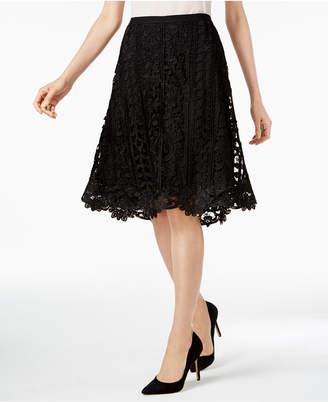 Jpr Crocheted A-Line Skirt $60 thestylecure.com