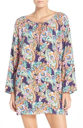 Tommy Bahama Paisley Cover-Up Tunic $98 thestylecure.com