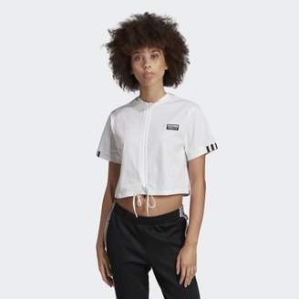 adidas Ruched Tee