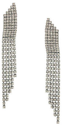 ABS by Allen Schwartz Rhinestone, Crystal Drop Pierced Earrings