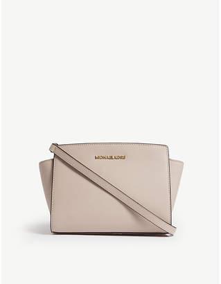 MICHAEL Michael Kors Michael Kors Ladies Soft Pink Timeless Selma Leather Cross-Body Bag