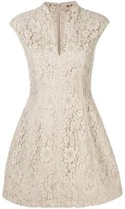 Blanca floral lace mini dress