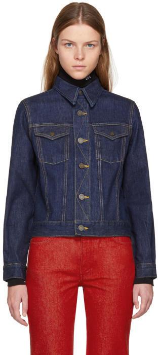 Calvin Klein 205W39NYC Blue Denim Jacket