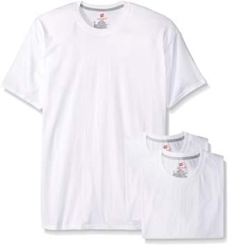 Hanes Men's Classics FreshIQ ComfortBlend 3 Pack Tagless T-Shirts