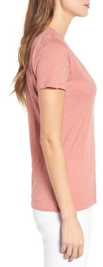 Women's Madewell 'Whisper' Cotton V-Neck Pocket Tee 5