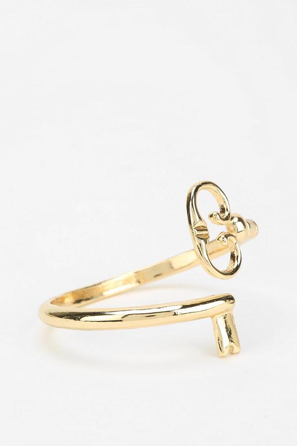 Urban Outfitters The Secret Key Cuff Bracelet