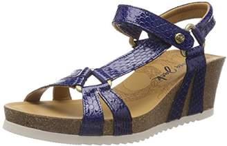 Panama Jack Women's Violetta Snake Charol Open Toe Sandals,5 UK
