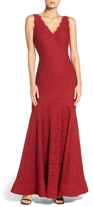 Women's Adrianna Papell Lace Mermaid Gown $289 thestylecure.com