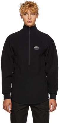 Ribeyron Black Fleece Warmer Sweater