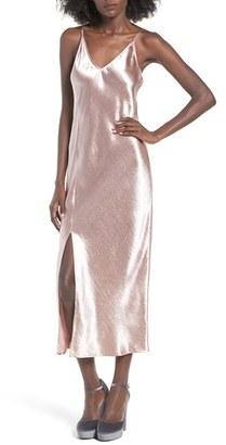 Women's J.o.a. Satin Slipdress $75 thestylecure.com