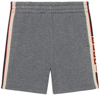 Gucci Kids Children's short with jacquard trim