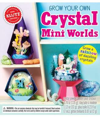 Your Own KLUTZ Grow Crystal Mini Worlds Kit