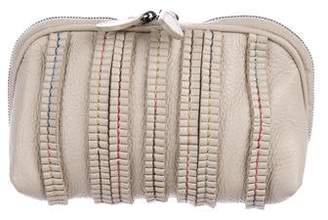Bottega Veneta Leather Cosmetic Pouch