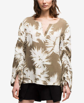 DKNY Ruched-Sleeve Top, Created for Macy's