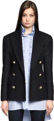 Faith Connexion Double Breasted Wool Cloth Jacket