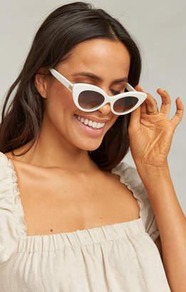 Show Me Your Mumu Crap Eyewear ~ The Wild Gift Sunglasses ~ White