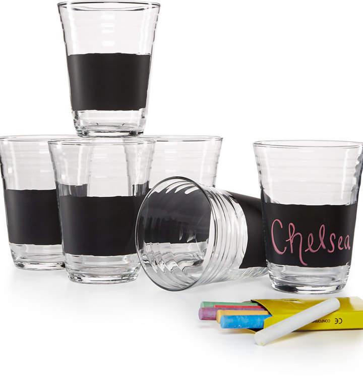 Luminarc Set of 6 Chalk Party Glasses