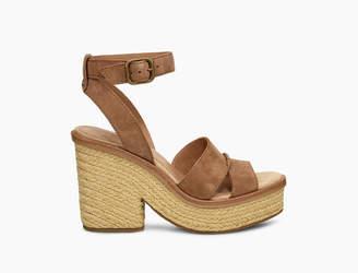 8653171dd6e UGG Brown Heeled Sandals For Women - ShopStyle UK