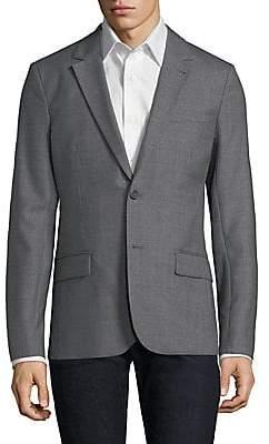 Ami Paris Men's Wool Notch Lapel Sportcoat