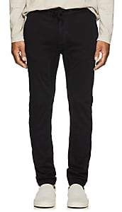 Dl 1961 Men's Jay Cotton Twill Track Pants-Black Size 34